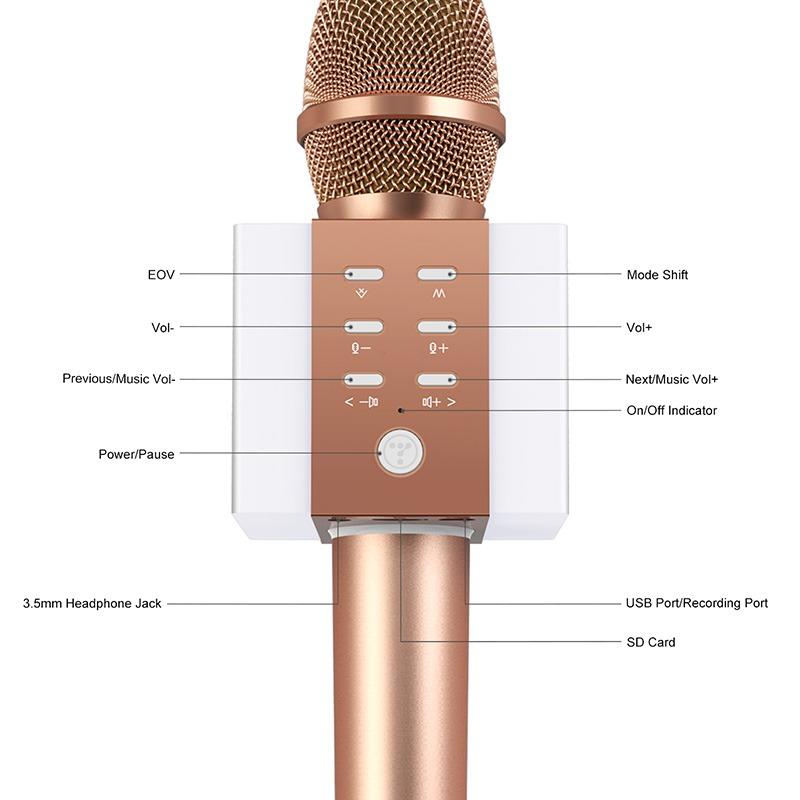 tosing 008 - micro karaoke kem loa bluetooth gia cuc re, hat cuc hay 10