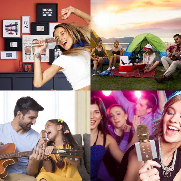 Tosing 008 - Micro Karaoke Kèm Loa Bluetooth Giá Rẻ, Hát Cực Hay 08