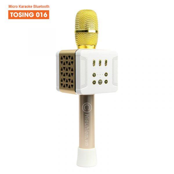Tosing 016 - Micro Karaoke Kèm Loa Bluetooth Công Suất 20W Cực Hay