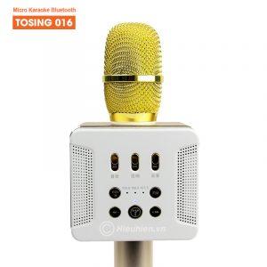 Tosing 016 - Micro Karaoke Kèm Loa Bluetooth Công Suất 20W Cực Hay 01