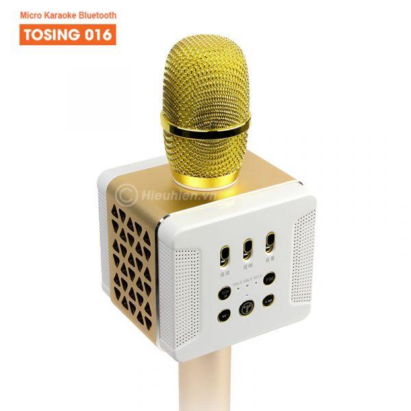 Tosing 016 - Micro Karaoke Kèm Loa Bluetooth Công Suất 20W Cực Hay 02