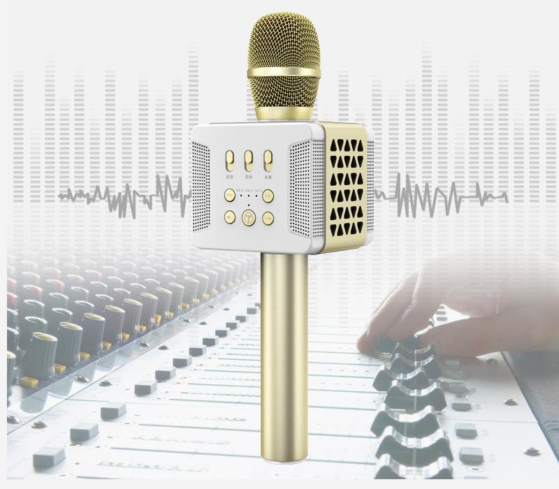 tosing 016 - micro karaoke kèm loa bluetooth công suất 20w, hát cực hay - kết nối fm