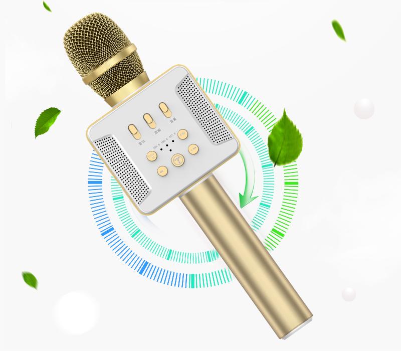 tosing 016 - micro karaoke kèm loa bluetooth công suất 20w, hát cực hay - thiết kế đẹp