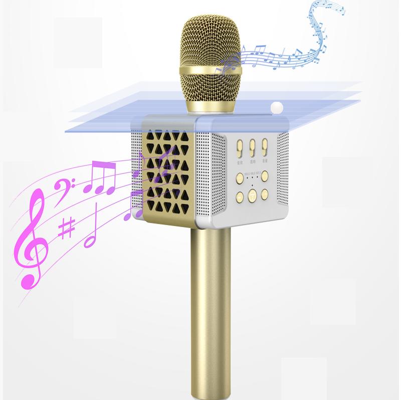 tosing 016 - micro karaoke kèm loa bluetooth công suất 20w, hát cực hay - âm thanh lớn
