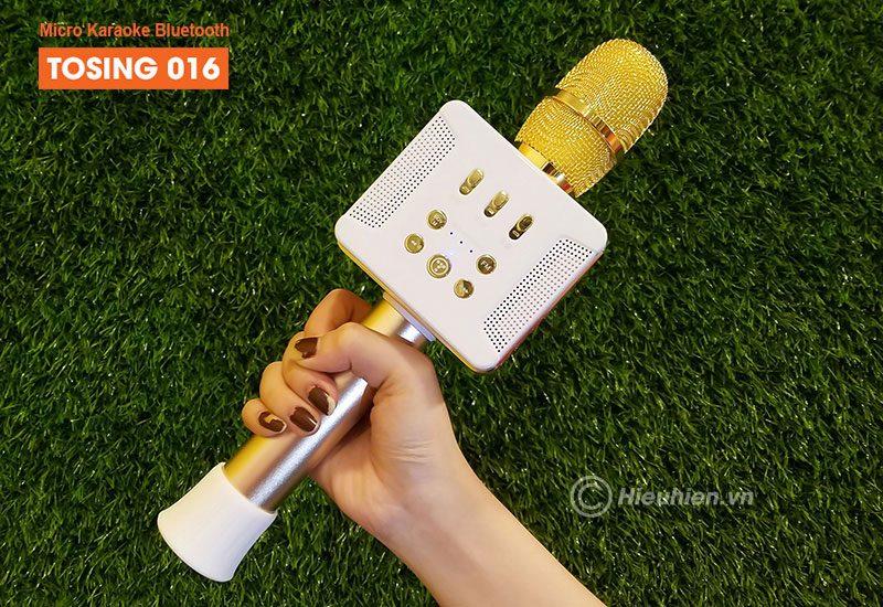 Tosing 016 - Micro Karaoke Kèm Loa Bluetooth Công Suất 20W, Hát Cực Hay