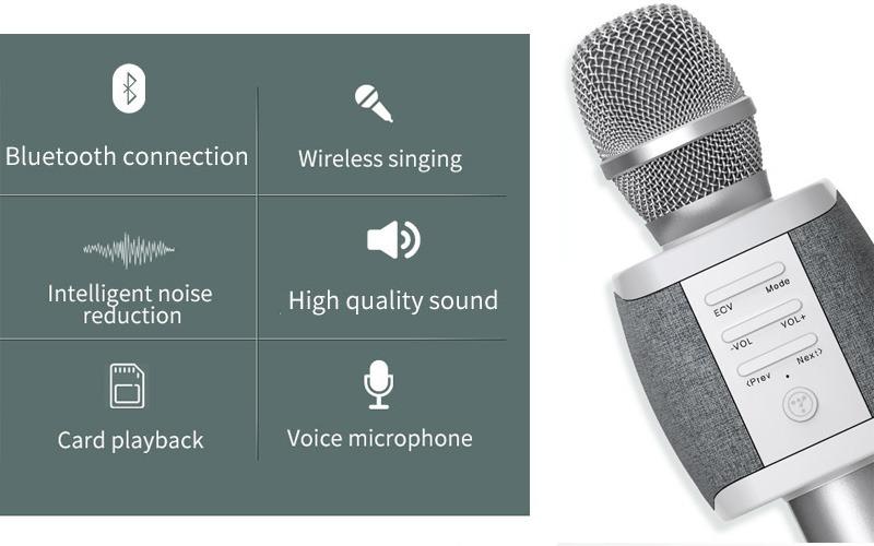 Tosing XR phiên bản Quốc tế - Micro Karaoke Bluetooth Chính Hãng, Cực Hay 08