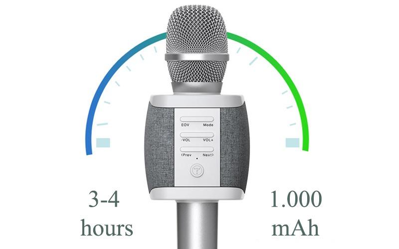 Tosing XR phiên bản Quốc tế - Micro Karaoke Bluetooth Chính Hãng, Cực Hay 09