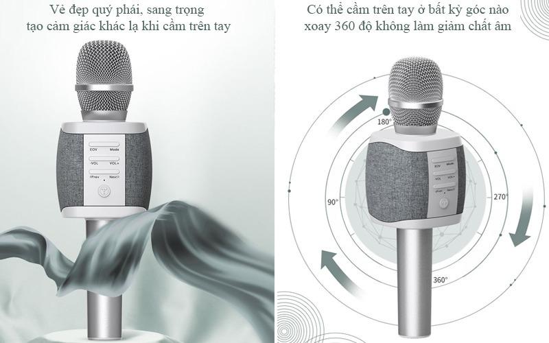 Tosing XR phiên bản Quốc tế - Micro Karaoke Bluetooth Chính Hãng, Cực Hay 10
