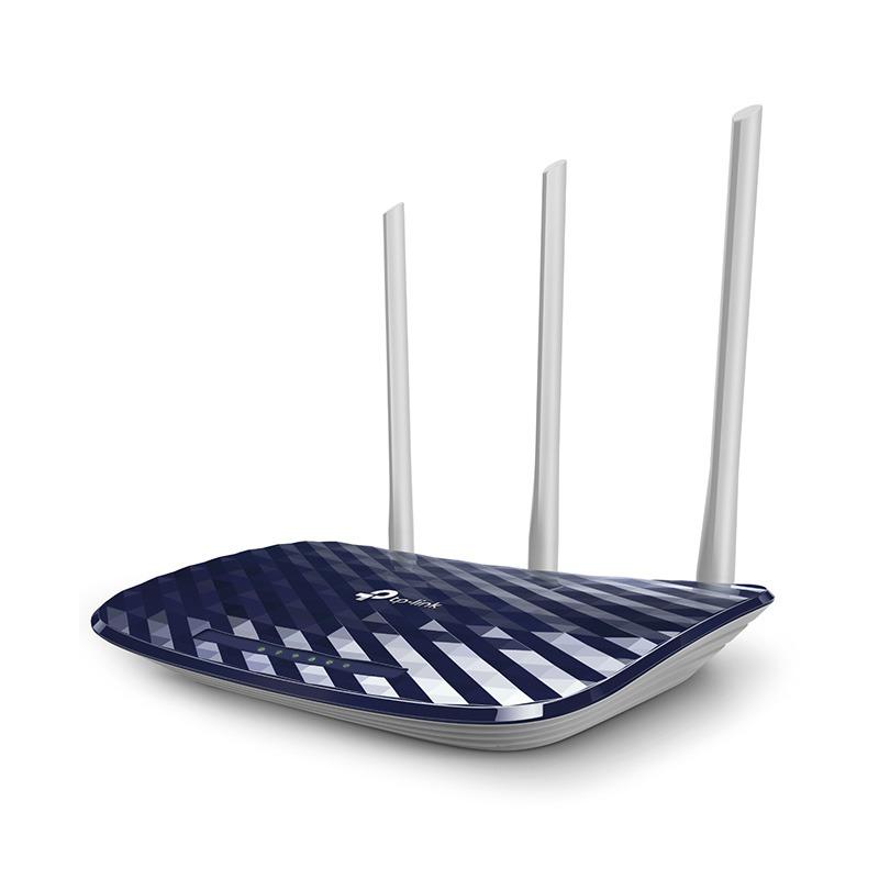 TP-Link Archer C20 - Bộ Phát WiFi Router Băng tần kép AC750