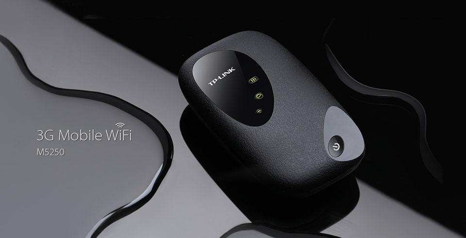 tp-link m5250 - bo phat wifi di dong tu sim 3g toc do cao 21.6mbps