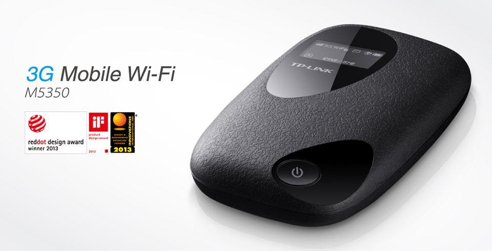 tp-link m5350 - bo phat wifi di dong tu sim 3g toc do cao 21.6mbps