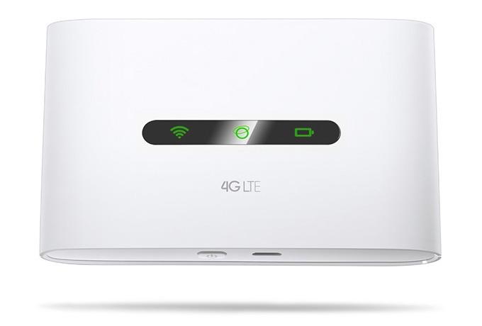 tp-link m7300 - bộ phát wifi di động 4g lte tốc độ 150mbps chính hãng - mặt trước