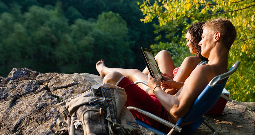 router wifi 4g di dong tp-link m7310 - ket noi wi-fi bat cu noi dau ban den
