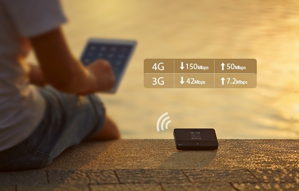 tp-link m7350 - bộ phát wifi di động 4g lte tốc độ 150mbps chính hãng - tốc độ cao