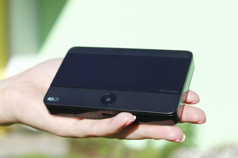 tp-link m7350 - bộ phát wifi di động 4g lte tốc độ 150mbps chính hãng - kích thước nhỏ