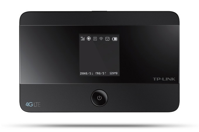 tp-link m7350 - bộ phát wifi di động 4g lte tốc độ 150mbps chính hãng - mặt trước