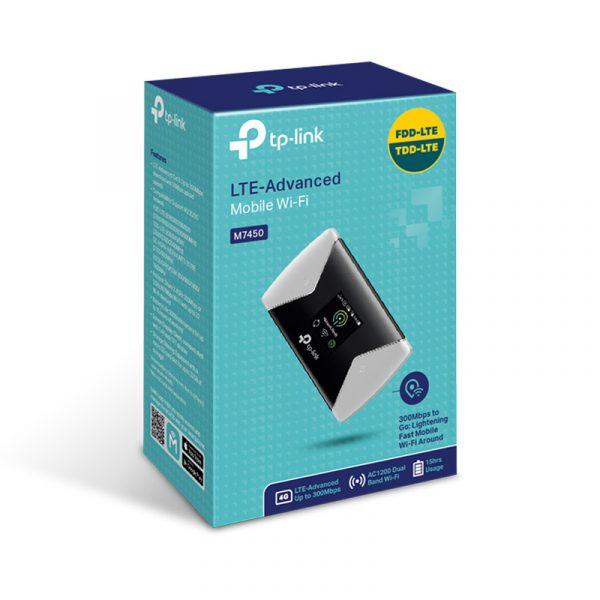 tp-link m7450 - bộ phát wifi di động 4g lte tốc độ 300mbps chính hãng - hình 03