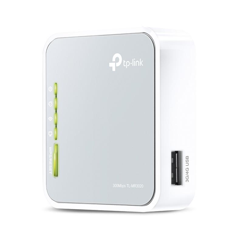 tp-link tl-mr3020 - bộ phát wifi di động từ usb 3g/4g chính hãng