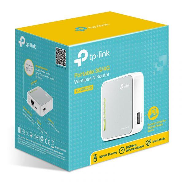 tp-link tl-mr3020 - bộ phát wifi di động từ usb 3g/4g chính hãng - hình 03