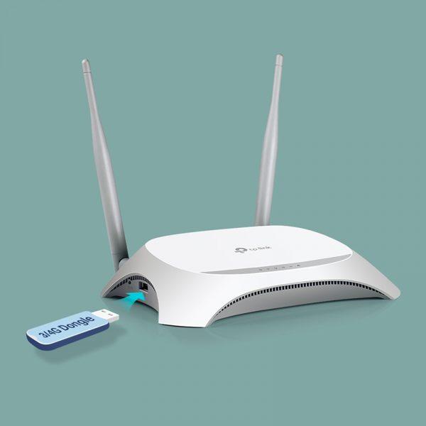 tp-link tl-mr3420 - bộ phát wifi di động từ usb 3g/4g chính hãng, giá tốt - hình 07