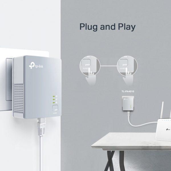 tp-link tl-pa4010 kit - bộ mở rộng internet qua đường dây điện av600 - hình 04