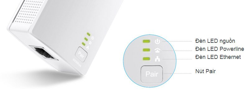 tp-link tl-pa4010 kit - bộ mở rộng internet qua đường dây điện av600 - hình 09