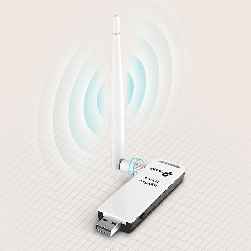 tp-link tl-wn722n – usb thu sóng wifi tốc độ 150mbps chính hãng - hình 04