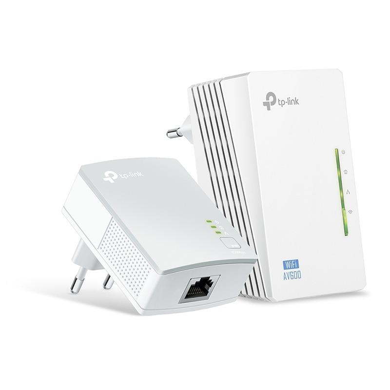 tp-link tl-wpa4220kit - bộ mở rộng internet qua đường dây điện av600 hỗ trợ wi-fi tốc độ 300mbps - hình 02