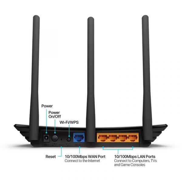 tp-link tl-wr940n - bộ phát wifi chuẩn n 450mbps chính hãng, giá tốt - hình 02