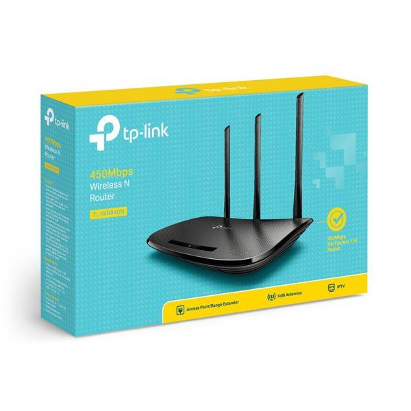 tp-link tl-wr940n - bộ phát wifi chuẩn n 450mbps chính hãng, giá tốt - hình 03