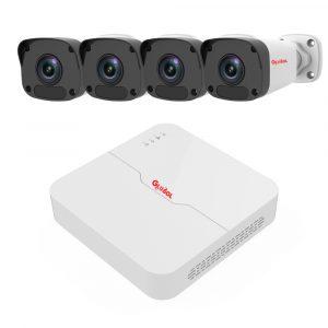 trọn bộ kit 4 camera ip global 2.0mp 1080p + đầu ghi hình ip 4 kênh