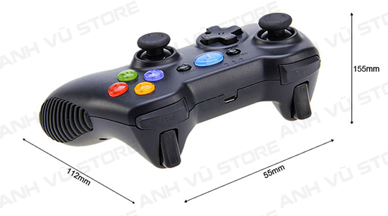 Tronsmart Mars G01 2.4GHz Wireless Gamepad Tay Game Cho Android TV BOX 24