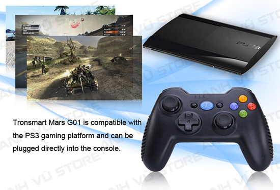 Tronsmart Mars G01 2.4GHz Wireless Gamepad Tay Game Cho Android TV BOX 18