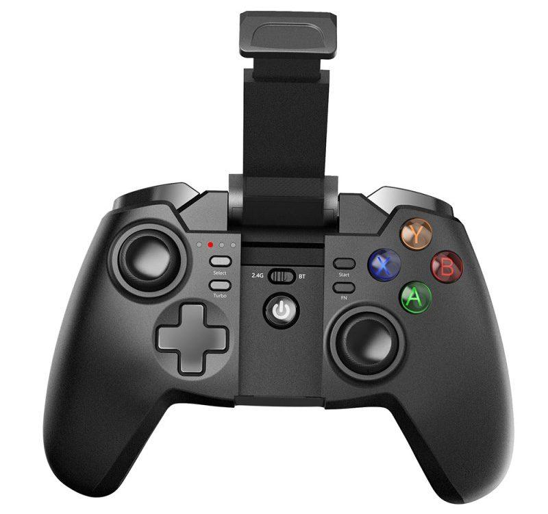 tronsmart mars g02 - tay cầm chơi game cho điện thoại, android tv box ps3 pc - mặt trước