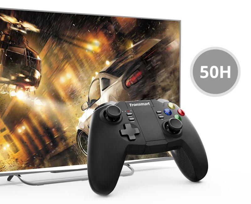 tronsmart mars g02 - tay cầm chơi game cho điện thoại, android tv box ps3 pc - chơi game trên android box