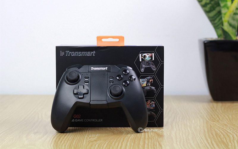 tronsmart mars g02 - tay cầm chơi game cho điện thoại, android tv box ps3 pc - full box