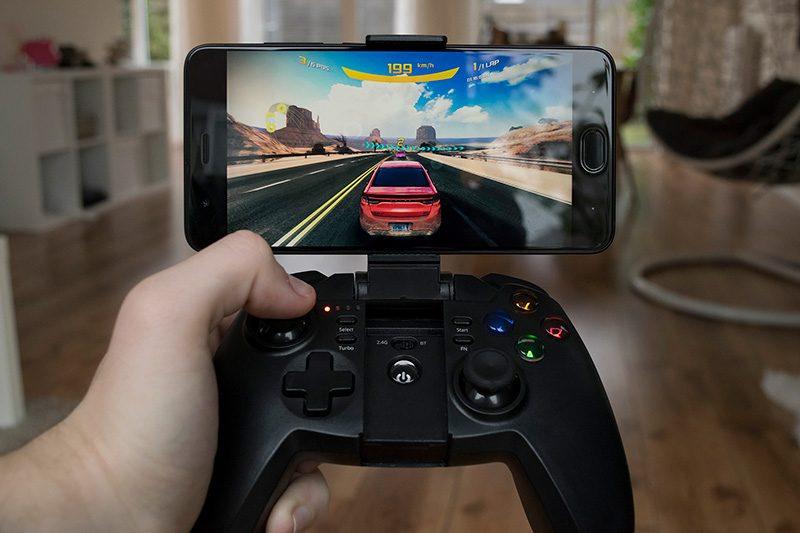 tronsmart mars g02 - tay cầm chơi game cho điện thoại, android tv box ps3 pc - chơi game điện thoại