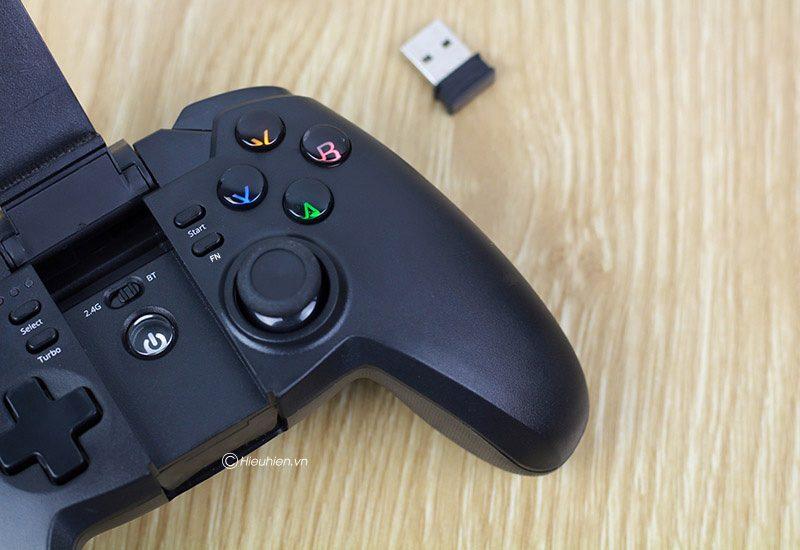 tronsmart mars g02 - tay cầm chơi game cho điện thoại, android tv box ps3 pc - đầu nhận usb