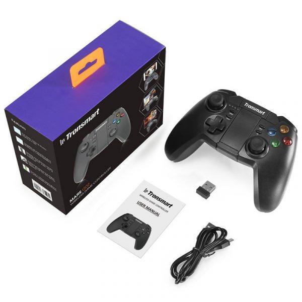 tronsmart mars g02 - tay cầm chơi game cho điện thoại, android tv box ps3 pc - hình 09