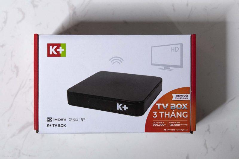 Truyền hình qua internet trên TV Box K+ có gì đặc biệt?