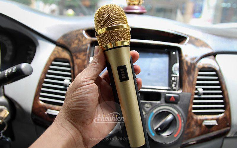 tuxun k9 - micro hát karaoke trên ô tô, xe hơi - fm
