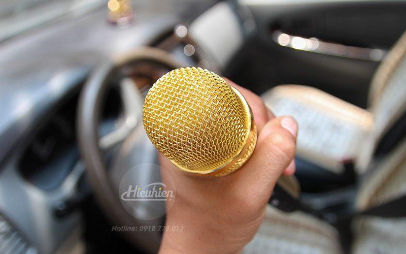 tuxun k9 - micro hát karaoke trên ô tô, xe hơi - đầu micro