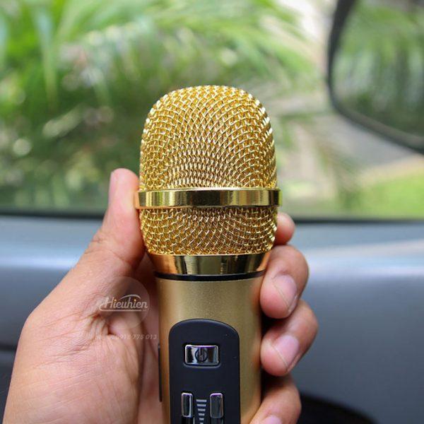 Tuxun K9 - Micro hát Karaoke trên ô tô, xe hơi 0