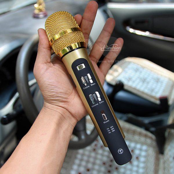 Tuxun K9 - Micro hát Karaoke trên ô tô, xe hơi 01