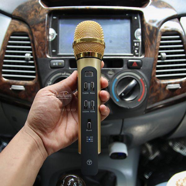 Tuxun K9 - Micro hát Karaoke trên ô tô, xe hơi 02
