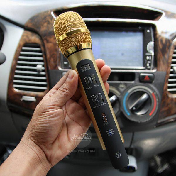 Tuxun K9 - Micro hát Karaoke trên ô tô, xe hơi 03