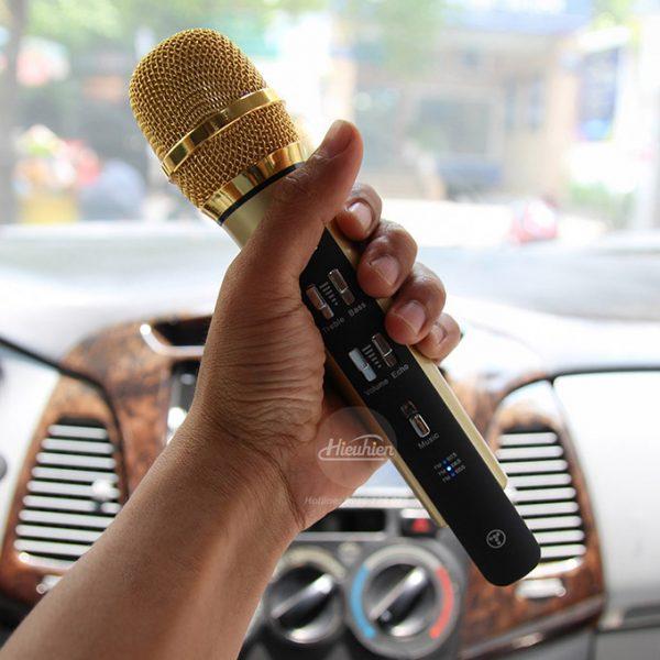Tuxun K9 - Micro hát Karaoke trên ô tô, xe hơi 04
