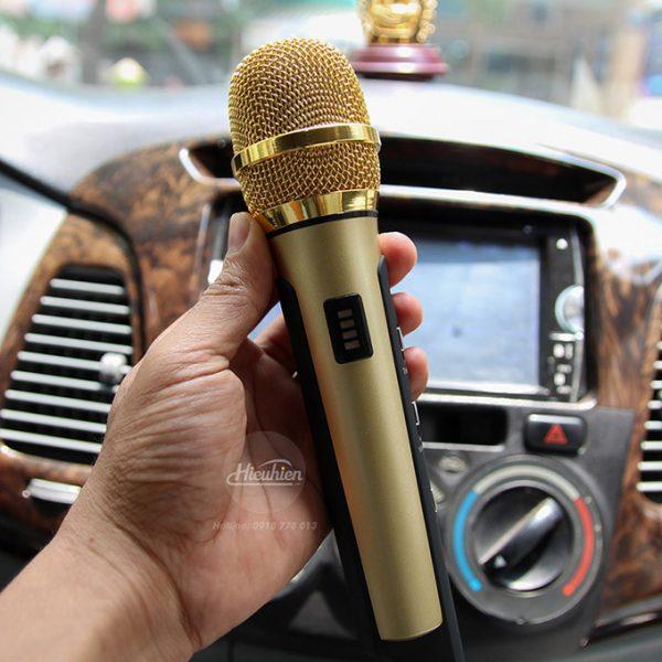 Tuxun K9 - Micro hát Karaoke trên ô tô, xe hơi 05