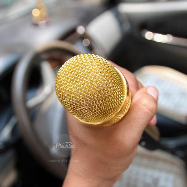 Tuxun K9 - Micro hát Karaoke trên ô tô, xe hơi 06