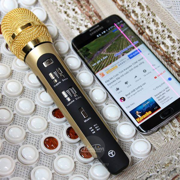 Tuxun K9 - Micro hát Karaoke trên ô tô, xe hơi 07